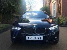 2013 BMW 1 SERIES 1.6 D Efficient Dynamics Sports Hatch 5dr (start/stop)