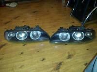 Bmw e39 genuine hella light headlights 520 525d 530