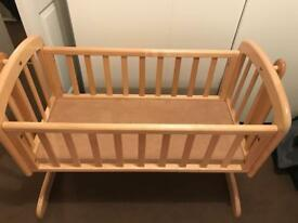 John Lewis Swinging Crib £20