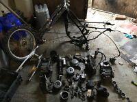 Breaking kx 80 parts