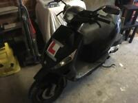 Piaggio zip 50cc 4t scooter/moped