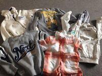 Boys age 5-6yrs next sweatshirts, next surf hoodie John rocha shirt next summer coat