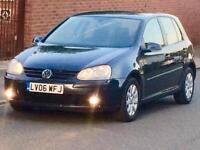 2006 VW GOLF 1.6 SE 5 DOOR LOW MILEAGE FULL YEARS MOT 3 MONTHS WARRANTY
