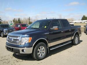 2014 Ford F-150 XLT 4x4 Crew with Leather seats