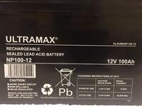 ULTRAMAX NP100-12 Battery