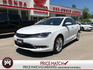 2015 Chrysler 200 Limited* BACK-UP CAM! AUTO LIGHTS! BLUETOOTH!