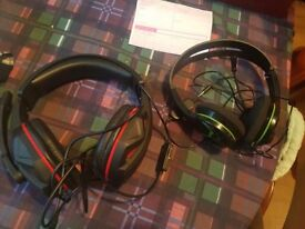 2 x xbox one headset