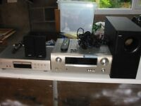 Denon Music Centre with Bose Speakers