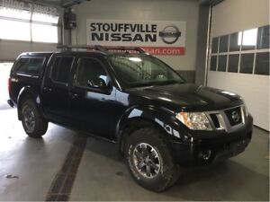 Nissan Frontier pro-4x navigation and sunroof 2015