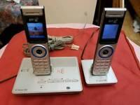 Cordless phones bt verve 500 two hansets