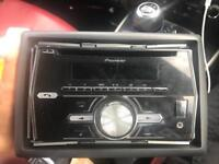 Pioneer FH X700BT bluetooth double din stereo