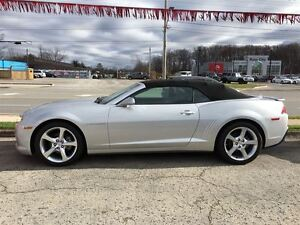 2015 Chevrolet Camaro 2LT RS CONVERTIBLE, LEATHER, LOCAL TRADE