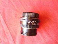 Fast SMC Asahi Pentax f1.7 50mm prime lens. Superb