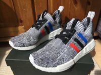Adidas NMD R1 primeknit tri-colour grey