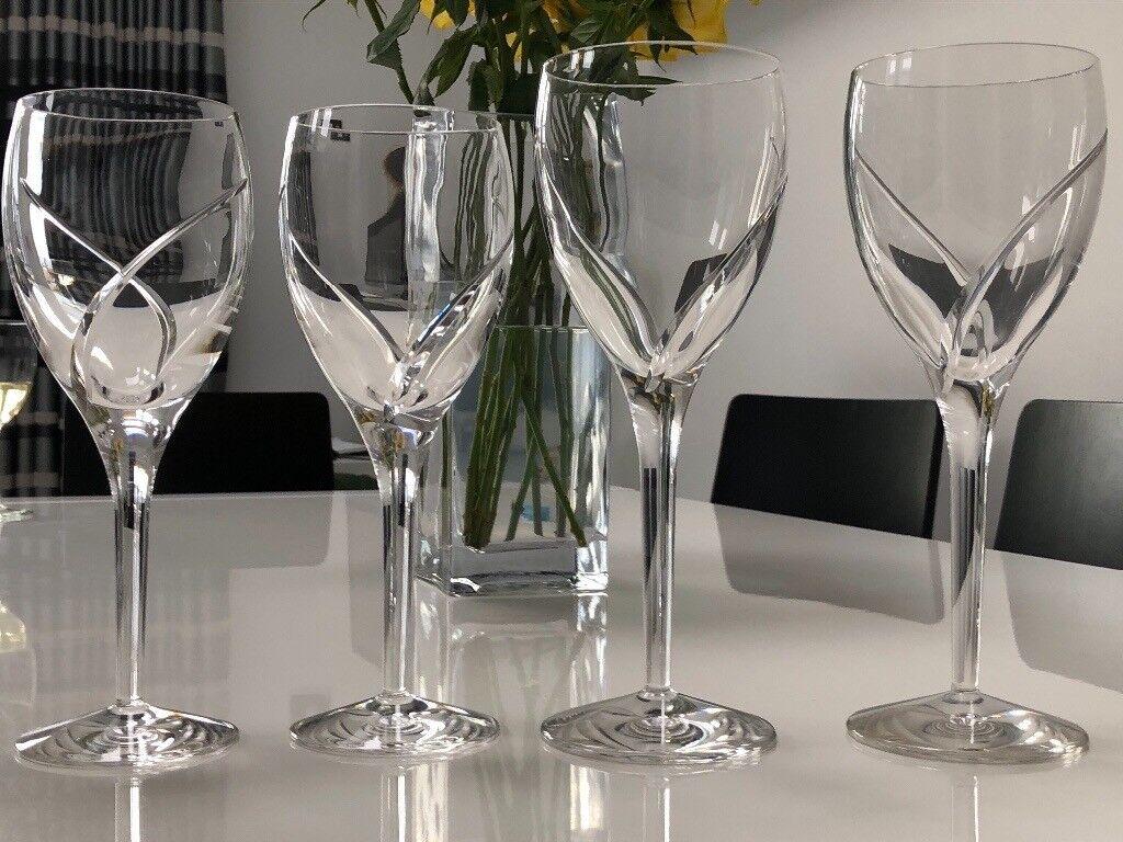 Waterford crystal siren wine glasses