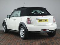 MINI CONVERTIBLE 1.6 COOPER 2DR [PEPPER PACK] (white) 2014