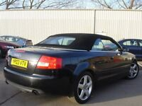 !!! AUDI A4 CONVERTIBLE/CABRIOLET 2.4 SPORT 2003 PLATE !!!