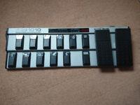 Guitar Midi Pedal - behringer fcb1010