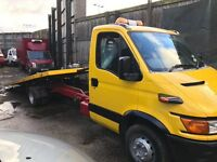 Iveco daily 6.5 ton tilt and slide recovery truck
