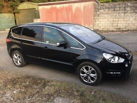 Ford SMax 2010 Titanium, 2.0l TDCI, Panther Black, Very Good condition