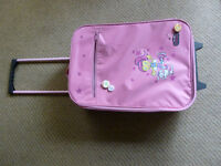 Girls Pink roller travel bag by Pink Angels