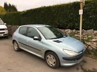Peugeot 206 - spare/repair-gearbox going