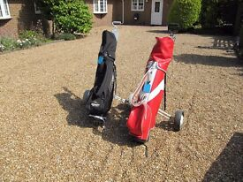 2 Sets of Golfing Clubs