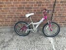 raleigh angel mountain bike girls 6 speed good condition and fully working