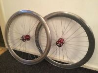 Flip flop single speed wheelset as new