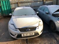 2007 Ford Mondeo Edge TDCI 125 6G 5dr Hatchback 1.8L Diesel Silver BREAKING FOR SPARES