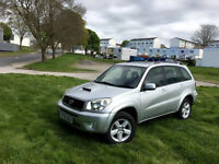 2004 TOYOTA RAV4 XT4 D-4D, 1 OWNER FROM NEW, F/S/H, NEW TURBO& CLUTCK+FLYWHEEL