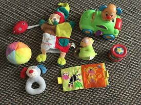 Various baby toys to sell