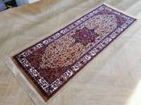 New Beige Persian Runner Rug!