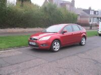 2008 08 NEWEST SHAPE FORD FOCUS 1.6 STYLE 100 FULL SERVICE HISTORY EXCELLENT CONDITION AND DRIVER