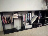 two unit shelves