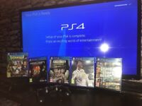 PS4 Slim 500GB WITH NEW GAMES