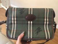 Genuine vintage Burberry bag