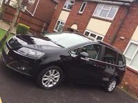 Seat Alhambra SE LUX CR TDI S ( 7seater, auto,2014, black, very low mileage)