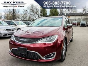 2017 Chrysler Pacifica LIMITED, DUAL DVD, 360 CAM, PANO SUNROOF,