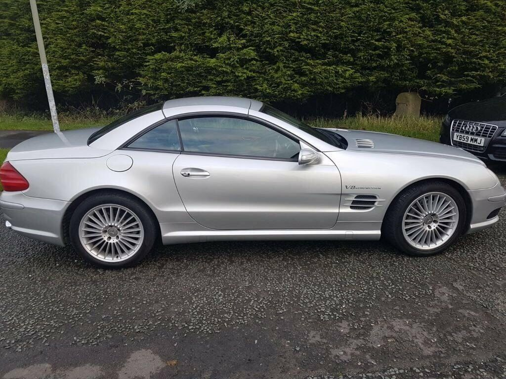 mercedes benz sl 500 sl 55 amg full replica lovely looking car fsh 2004 in stockport. Black Bedroom Furniture Sets. Home Design Ideas