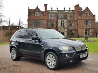 2008/57 BMW X5 M SPORT 30SD TWIN TURBO DIESEL 286BHP STEP-AUTO IN CARBON BLACK PANORAMIC SUNROOF.