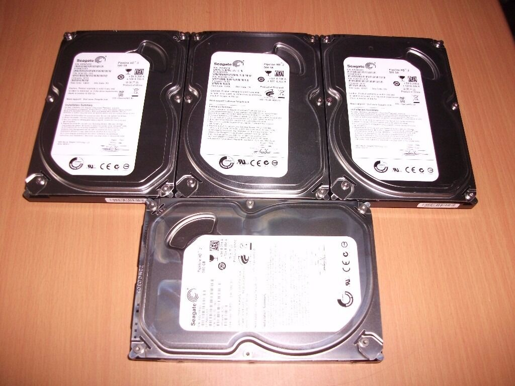 "500 Gig Sata 3.5"" Hard Drives"