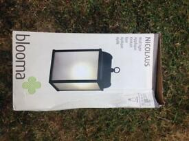 Wall light outdoor new in box