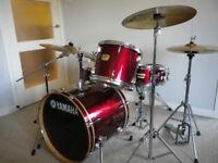 "Yamaha YD Drum Kit / 20"" Bass Drum 12""+14"" Toms, 14"" snare / Solar Cymbal Set / Yamaha hardware"