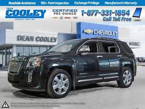 2014 GMC Terrain DENALI/0.9% FINANCING/SUNROOF/HTD LEATHER SEATS
