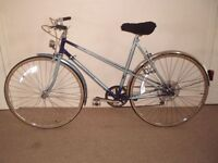 "Classic/Vintage/Retro Ladies/Womens Raleigh Wisp 21"" City/Hybrid/Commuter/Town Bike (will deliver)"