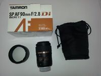 Tamron SP AF 90mm F2.8 Di Macro 1:1 Lens, Nikon Fit