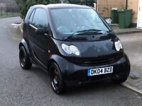 Smart fortwo 0.7 City Pure 3dr, Black, Automatic, MOT May 2018