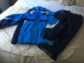 Trespass Ski Jacket & Sallopettes - age 9-10
