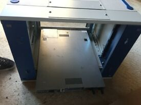 Dell Poweredge r410 server and server cabinet
